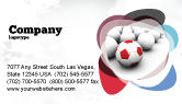 Sports: Originality Business Card Template #04570