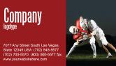 Sports: American Football New Orleans Saints Business Card Template #04572