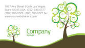 Nature & Environment: Green Solution Business Card Template #04597