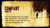 Art & Entertainment: Hindu Temple Business Card Template #04603
