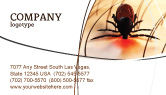 Medical: Mite Business Card Template #04636