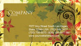 Abstract/Textures: Spring Theme Business Card Template #04679