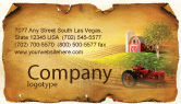 Agriculture and Animals: Life On The Farm Business Card Template #04698
