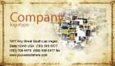 Art & Entertainment: Photo Business Card Template #04730