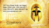 Education & Training: Antiquity Business Card Template #04760