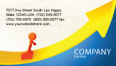 Careers/Industry: Improvement Business Card Template #04786