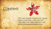 Abstract/Textures: Grunge Flower Texture Business Card Template #04826