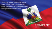 Flags/International: Haiti Business Card Template #04875