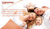 People: Lucky Family Business Card Template #04888