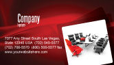 Careers/Industry: Conference Hall Waiting For Business Meeting Business Card Template #04923