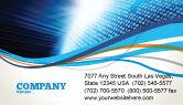 Telecommunication: World In Cijfers Visitekaartje Template #04997