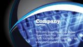 Technology, Science & Computers: Virtuelle tastatur Visitenkarte Vorlage #05023