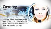 Telecommunication: Communicatiedienst Visitekaartje Template #05039