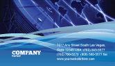 Telecommunication: Omroepnetwerk Visitekaartje Template #05044