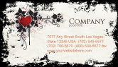 Holiday/Special Occasion: Love Ornament Business Card Template #05050