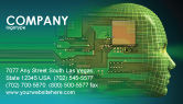 Technology, Science & Computers: High Tech Era Business Card Template #05057