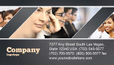 Careers/Industry: Call Center Business Card Template #05070
