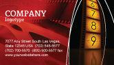 Careers/Industry: Cinema Strip Business Card Template #05073