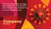 Religious/Spiritual: Templat Kartu Bisnis Dunia Cinta #05075