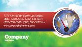 Careers/Industry: Fuel Meter Business Card Template #05077