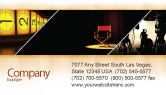 Art & Entertainment: Film Director Business Card Template #05179
