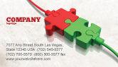 Business Concepts: Templat Kartu Bisnis Terhubung #05214