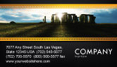 Flags/International: Stonehenge Business Card Template #05232