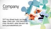Business: 谈判进行中名片模板 #05249