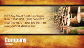 Careers/Industry: Saw Mill Business Card Template #05341