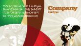 Sports: American Football League Business Card Template #05344