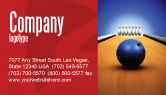 Sports: Hitting The Goal Business Card Template #05469