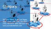 Business Concepts: Ondernemers Visitekaartje Template #05575