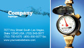 Utilities/Industrial: 명함 템플릿 - 수량 계량기 #05692