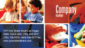 Education & Training: Primary School Business Card Template #05730