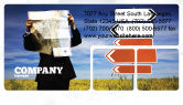Business Concepts: Choosing Root Business Card Template #05832