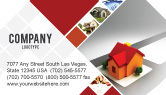 Construction: Planning For Building Suburb Business Card Template #05866