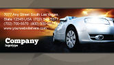 Cars/Transportation: Open Road Business Card Template #06070