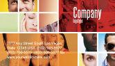 People: Menschliche emotionen Visitenkarte Vorlage #06290