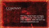 Abstract/Textures: Red Grunge Business Card Template #06302