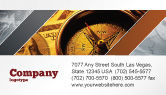 Consulting: Templat Kartu Bisnis Kompas Uang #06377