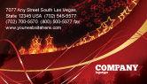 Abstract/Textures: Modello Biglietto da Visita - Stelle astratte rosse #06428