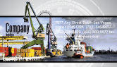 Cars/Transportation: Shipyard Business Card Template #06499