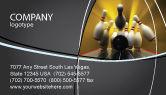 Business Concepts: Fallen Skittles Business Card Template #06514