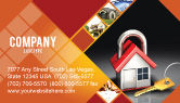 Financial/Accounting: Turnkey Huis Visitekaartje Template #06556