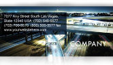 Construction: Junction On Highway Business Card Template #06566