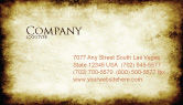 Abstract/Textures: Rusty Background Business Card Template #06808
