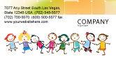 Education & Training: Lustige kinder Visitenkarte Vorlage #07045