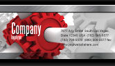 Utilities/Industrial: Connecting Point Business Card Template #07132