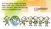 Education & Training: Templat Kartu Bisnis Tema Kiddy #07189
