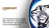 Medical: World Healing Business Card Template #07228